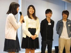 月曜Eチーム、見事【フィードバック葉書トップチーム賞】獲得!