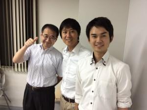釘崎校長と、星加コーチ&田村サブコーチ!