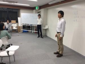 月曜クラスを引っ張ってくださった、爽やか系のお二人。星加コーチ&田村サブコーチ!