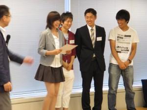 ぶっちぎり熊金Gチームは、見事【獲得ポイントトップチーム賞】を受賞!