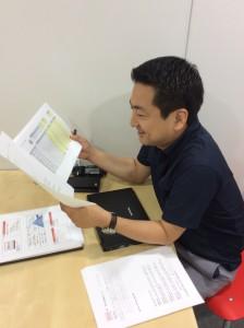 熊澤コーチ、いつもむちゃくちゃじっくり読んでMVPを選んでます。