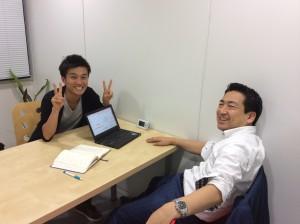 熊澤コーチと高橋サブコーチ、いつも熱いホームルームをありがとうございます!