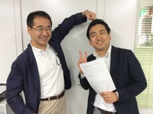 このお二人のご縁も、学生時代の熊澤さんによる社会人訪問(というか営業?)からはじまりました。
