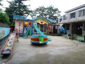 現在の青井幼稚園。6年前、熊本出張した折に立ち寄ったときに撮影